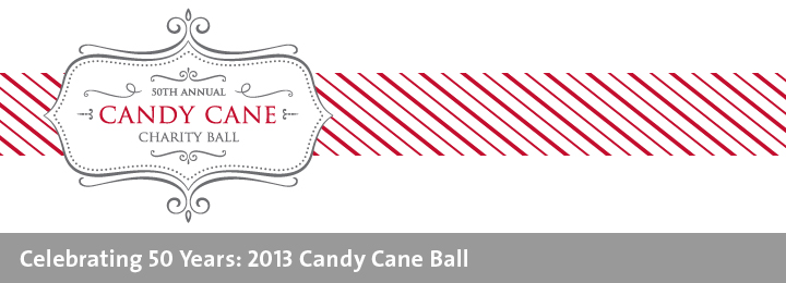 50th candy cane charity ball